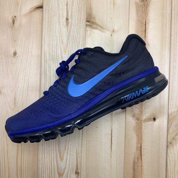 New Men's Nike Air Max 2017 Deep Royal Blue NWT